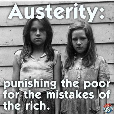 Punishing the Poor for the Mistakes of the Rich